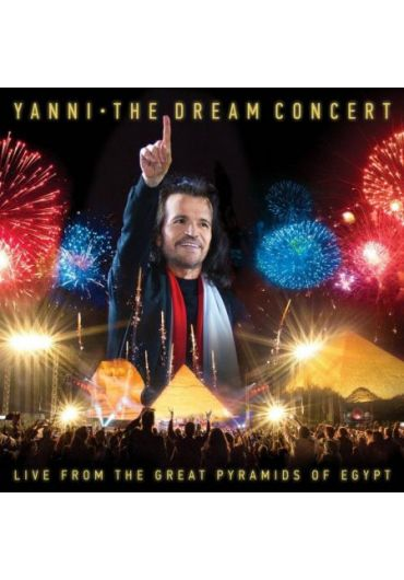 Yanni - The Dream Concert-Live from the Great Pyramids of Egypt - BOX