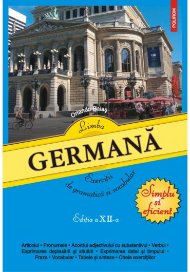 Limba germana. Exercitii de gramatica si vocabular