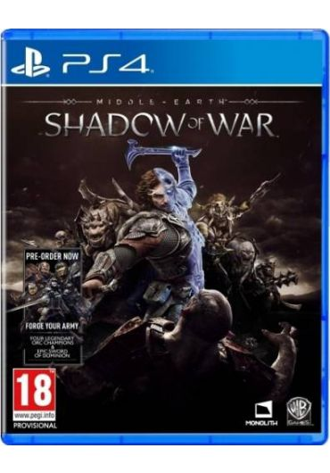 Joc Middle Earth Shadow Of War - PS4