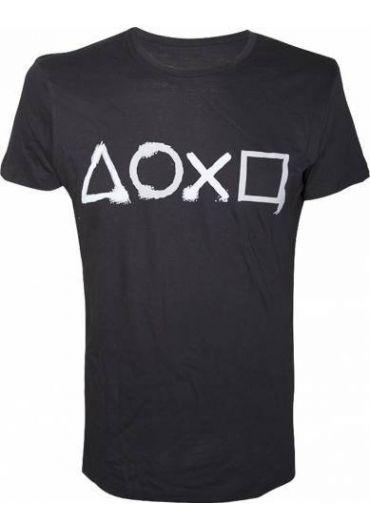 Tricou Playstation Buttons Tshirt XL