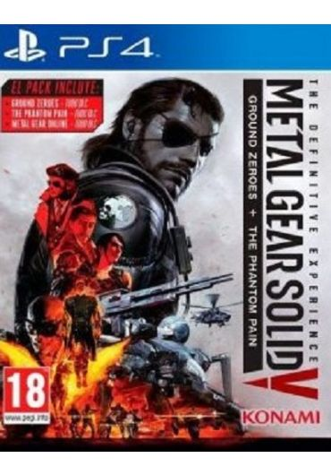 Joc Metal Gear Solid 5 Definitive Experience PlayStation 4