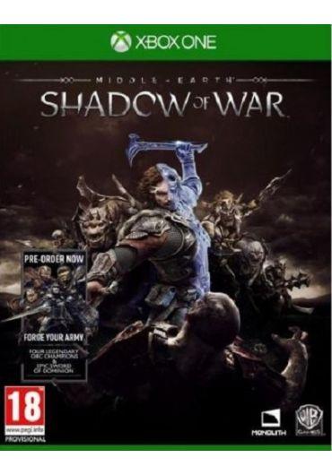 Joc Middle Earth Shadow Of War pentru Xbox One
