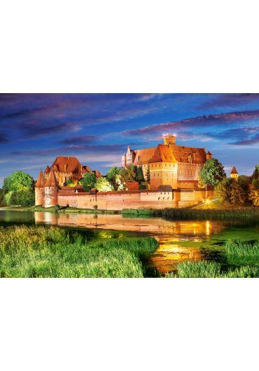 Puzzle 1000 piese Malbork Castle Poland