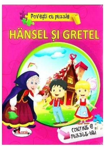 Povesti cu puzzle - Hansel si Gretel