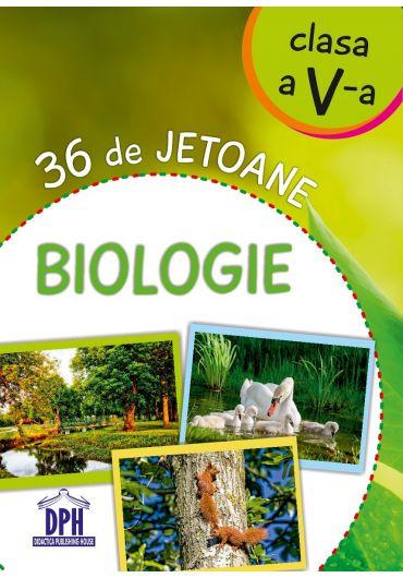 Biologie - 36 de jetoane. Clasa a V- a
