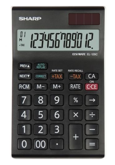 Calculator de birou 12 DG EL-128C-WH
