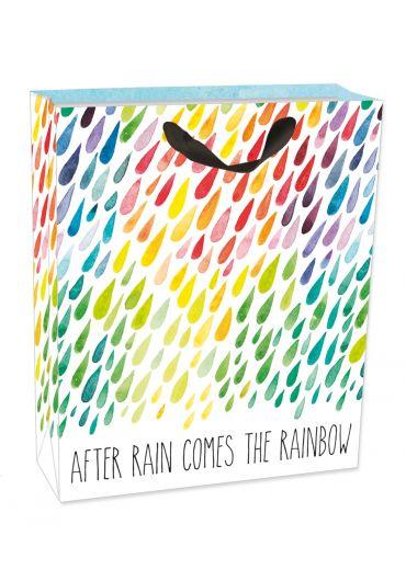 Punga medie pentru cadouri - After Rain