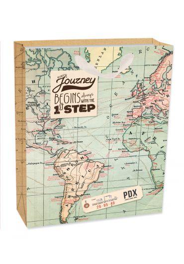 Punga cadou medie - Map