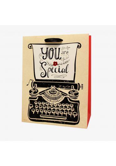 Punga medie pentru cadouri - You are special