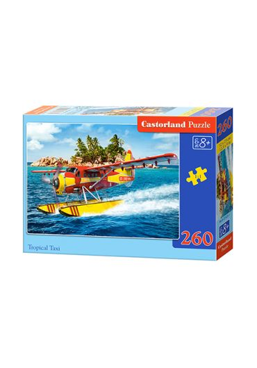 Puzzle 260 piese Tropical Taxi