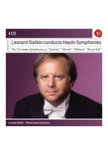 The 12 London Symphonies - Leonard Slatkin conducts Haydn Symphonies - 4CD