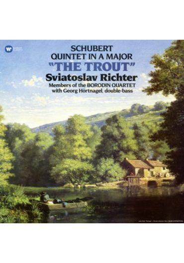 Sviatoslav Richter, Borodin Qua - Schubert (Trout Quintet) - LP