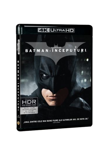 Batman inceputuri 4K UHD [Blu Ray Disc]
