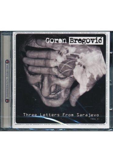 Goran Bregovic - Three Letters from Sarajevo - CD