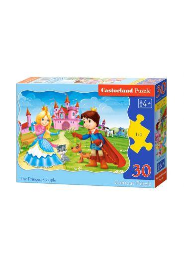 Puzzle 30 piese Princess Couple