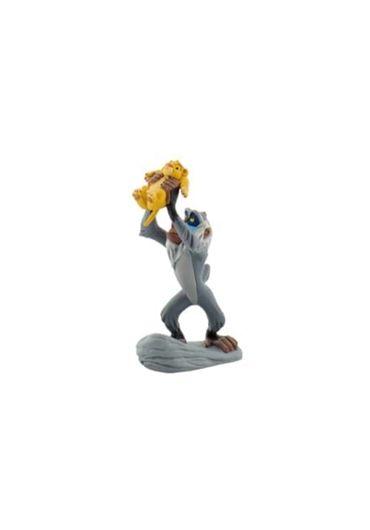 Figurina Rafiki with Baby Simba