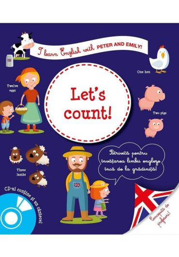 I learn english. Let's count