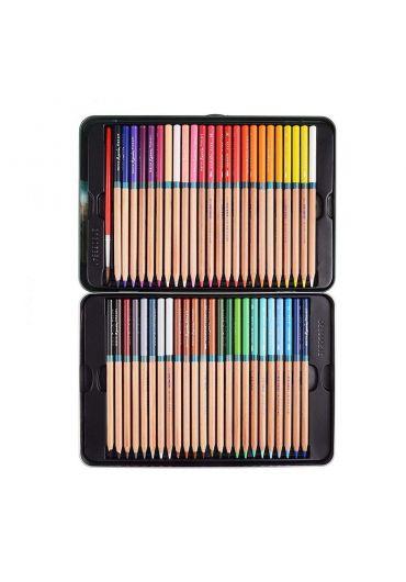Creioane 48 culori cutie metalica Marco FineArt