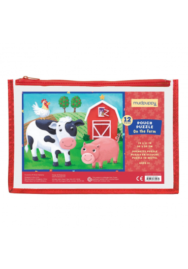 Pouch Puzzles - On the farm