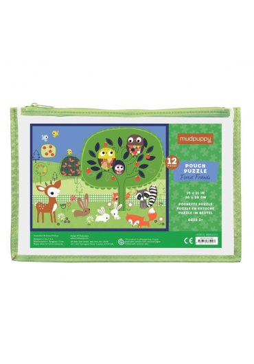Pouch Puzzles - Forest friends