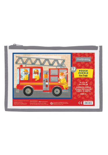 Pouch Puzzles - Fire truck