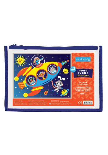Pouch Puzzles - Outer space