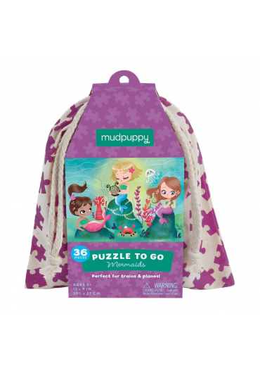 Puzzle to go - Mermaids