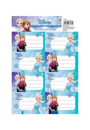 Etichete scolare 40/set Frozen