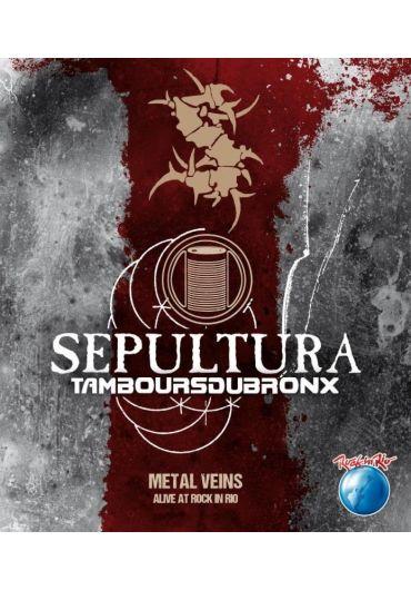 Sepultura - Metal Vein Alive At Rock In Rio - DVD