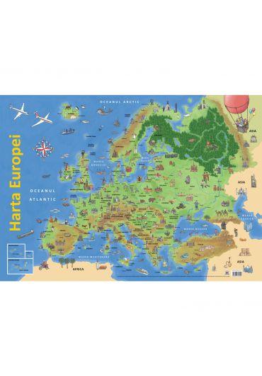 Harta Europei (plansa)