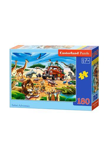 Puzzle 180 piese Safari Adventure
