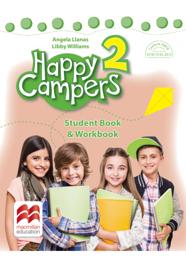Happy Campers. Student Book, Workbook - Clasa a II-a