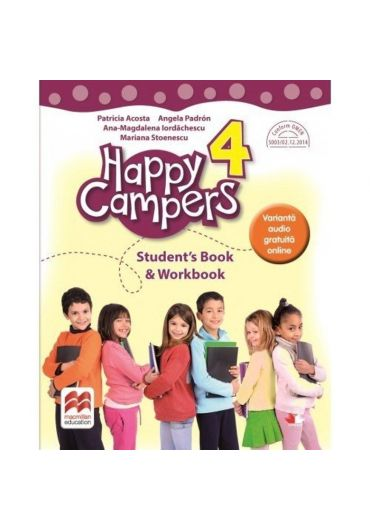 Happy Campers. Student Book, Workbook - Clasa a IV-a