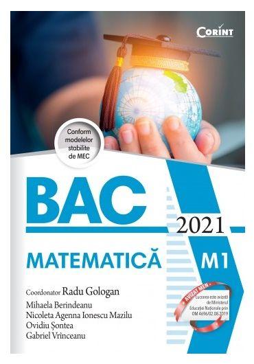 Bacalaureat 2021. Matematica M1