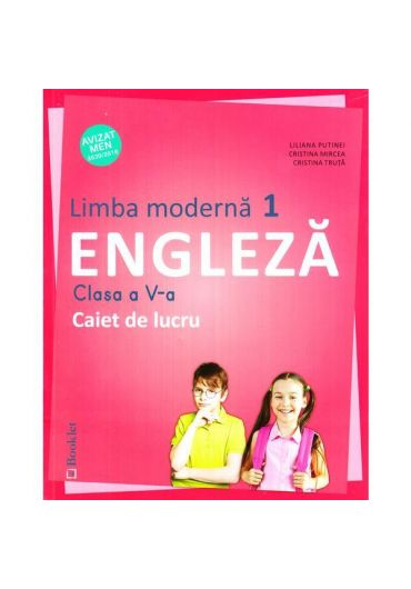 Limba moderna 1 Engleza, caiet de lucru cl.V