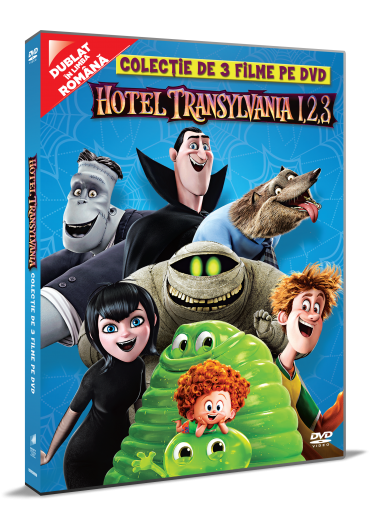 Colectie Hotel Transilvania 1-3 [DVD]