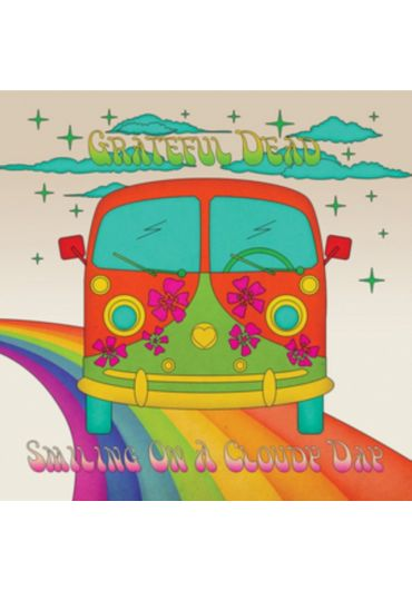 Grateful Dead - Smiling On A Cloudy Day - CD