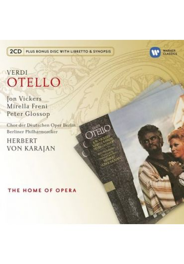 Herbert von Karajan - Berliner Philharmoniker - Verdi Otello - 2CD