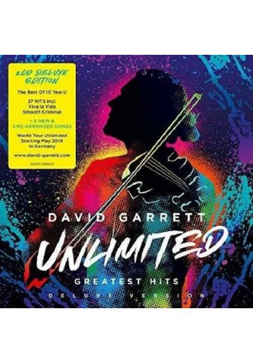 David Garrett - Greatest Hits Deluxe Version 2CD