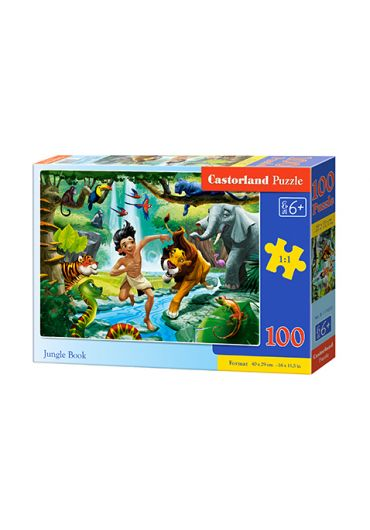 Puzzle 100 piese Jungle Book