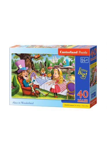 Puzzle 40 piese Maxi Alice in Wonderland