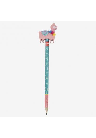 Creion cu radiera Drama Llama