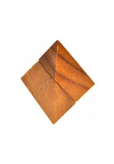 Puzzle din lemn - Pyramid 2 Pcs
