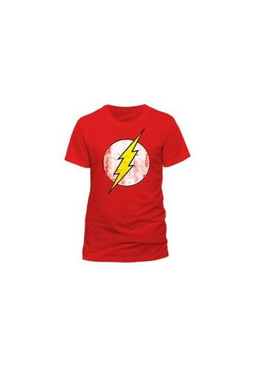 Tricou The Flash Logo Rosu - Marimea L