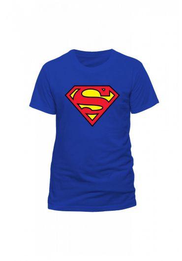 Tricou Superman Logo Albastru - Marimea S