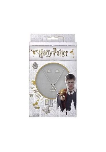 Set cadou Harry Potter Cercei si Lant Deathly Hallows