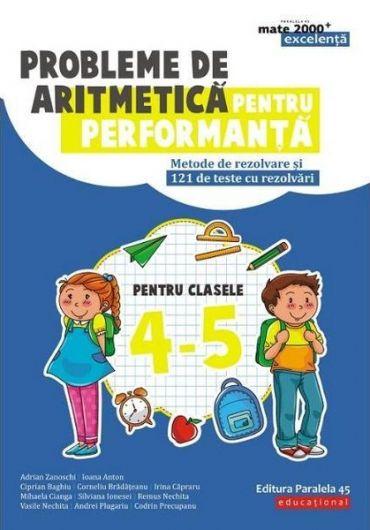 Probleme de aritmetica pentru performanta pentru clasele IV-V