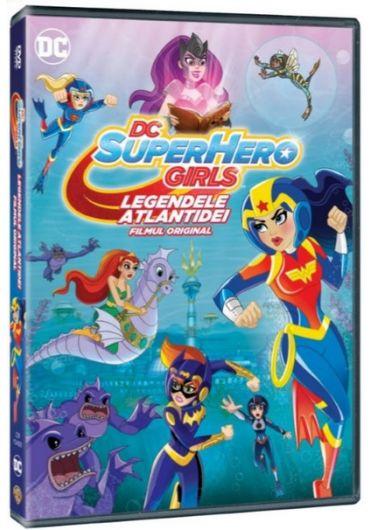 DC Super Hero Girls/Legendele Atlantidei [DVD]