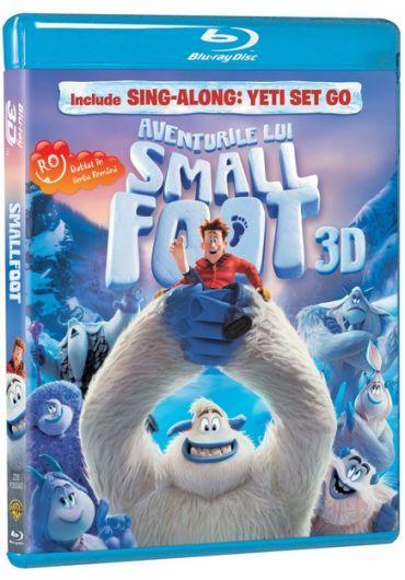 Aventurile lui Smallfoot 3D BD
