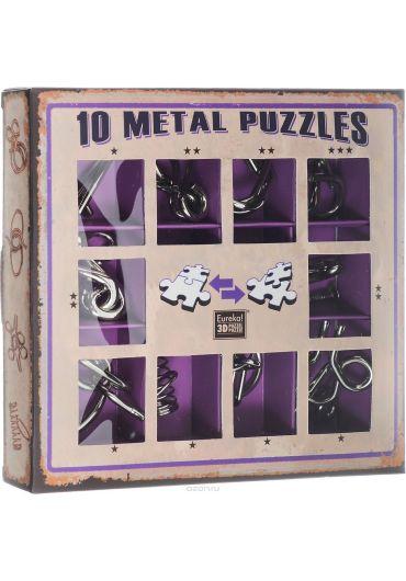 Set 10 Puzzle-uri metalice Mov